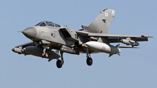 A Tornado GR4 like the two that collided killing three people off the Scottish coast in 2012.