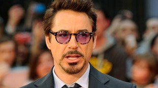 Iron Man star Robert Downey Jr.