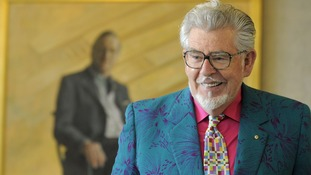 Rolf Harris pictured at the National Portrait Gallery in Canberra, Australia, in December 2008.