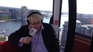 Boris insists underused cable car is a 'howling success'