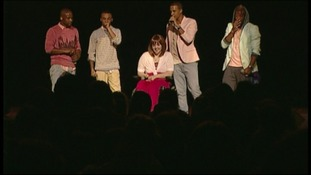 Hertfordshire teen performs with JLS