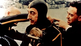 Legendary ocean explorer Jacques Cousteau.
