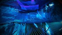 World's biggest underground trampoline opens in north Wales