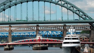 Super yacht Captain returns to the Tyne