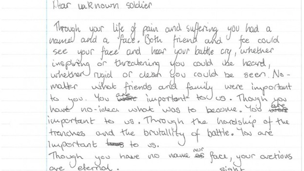 written by jack a student from herefordshire
