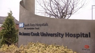 James Cook in Middlesbrough is one of the hospitals in the trust.