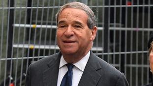 Former home secretary Leon Brittan.