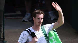 "Andy Murray crashes out of Wimbledon and admits he ""played poorly""."