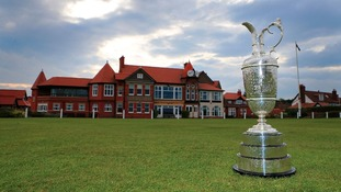 Course with Claret Jug