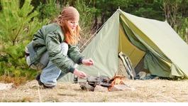 Carbon monoxide warning for campers