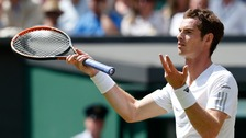 "The on court microphones caught Andy Murray muttering ""Five minutes before the f****** match"" before he lost at Wimbledon yesterday."