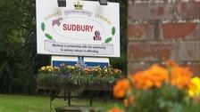 HMP Sudbury prison sign