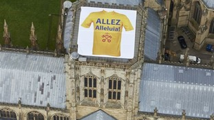 York Minster Tour de France