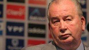 Julio Grondona, Argentina's senior Fifa vice-president.