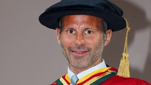 Ryan Giggs receives honorary degree