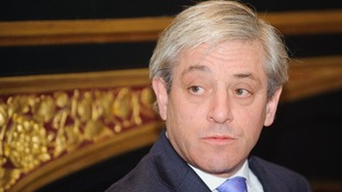 John Bercow has insisted he is not a sex symbol.