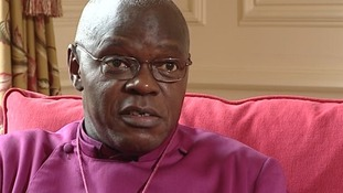 Archbishop of York offers prayers to soldier families