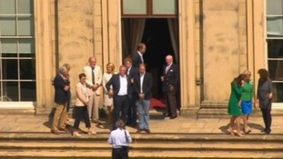 Royals spotted at Harewood House