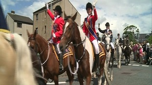 In pictures: Annan Riding of the Marches