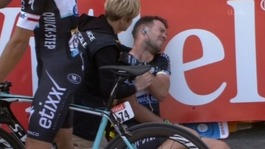Cavendish out of Tour de France