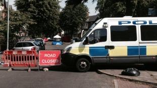 The violent disorder in Grantham Road, Sparkbrook, happened on Wednesday night