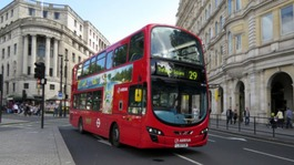 London buses go cash free