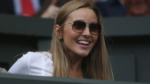 Djokovic's fiancee is swimwear model Jelena Ristic.