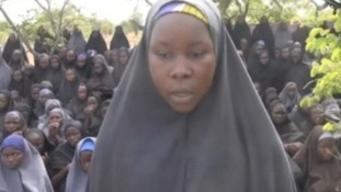 Boko Haram showed images of more than 200 schoolgirls they captured in April.