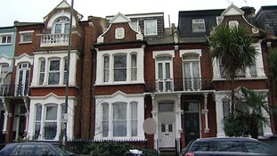 The Edwardian property in Barnes which was once the site of Elm Guest House.