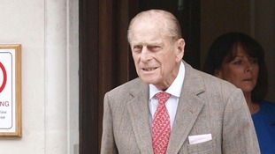 The Duke of Edinburgh left hospital earlier today.