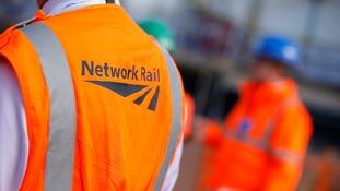 Men in Network Rail jackets.