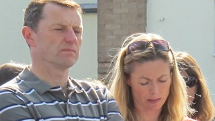 Kate McCann told a court today that her son asked her about allegations by an ex-Portuguese police chief.