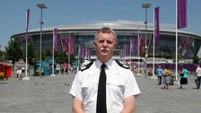 Assistant Chief Constable Andy Holt, the ACPO lead for football will oversee the British policing operation at the Euro 2012 competition outside the Donbass Arena in Donetsk, Ukraine.