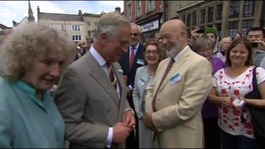 Prince Charles visits Somerset