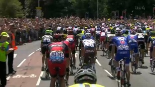 Thousands turned out to watch the race in Cambridge.