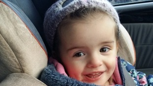 Trinity Liliana Coward died after being struck by a fire surround.