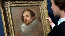 Head Study of a Man in a Ruff failed to sell at the Christie's London auction.