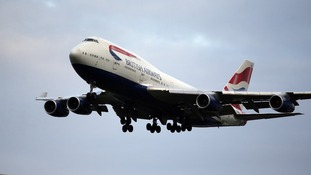 British Airways says passengers can have their devices posted to them.