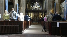 Service at St Nicholas Cathedral