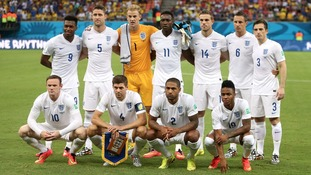 England team pictured ahead of getting knocked out of World Cup