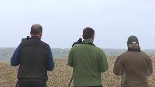 Cley is a popular destination for bird watchers.