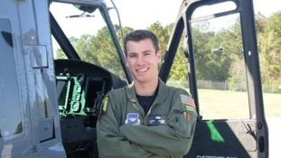 Capt Christopher Stover was among the four servicemen killed in the crash.