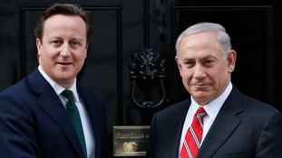 David Cameron has offered the UK's support to Israel in response to 'appalling' attacks carried out by Hamas.