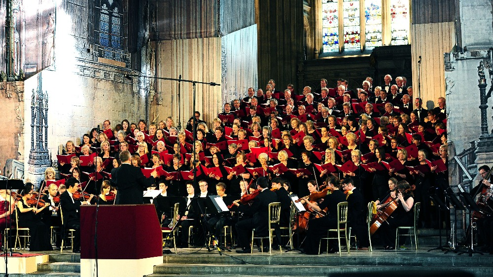 The Sound Of Peace Uk And German Parliament Choirs Unite