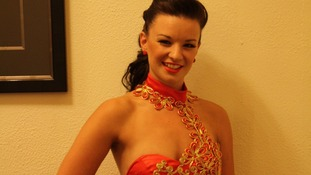 Rebecca Thomas who was working on the Costa Allegra as a dancer