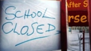 Almost 600 schools closed during strikes
