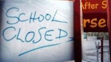 500 schools closed