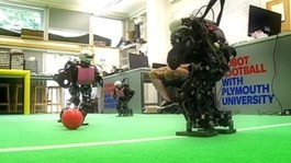 Plymouth take robots to world cup