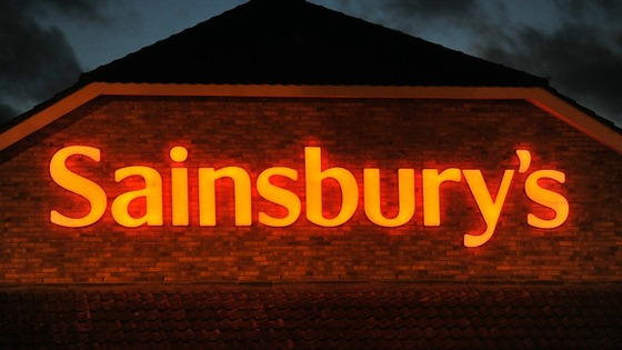 Sainsbury&#x27;s sign