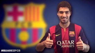 How the internet reacted to the Luis Suarez transfer